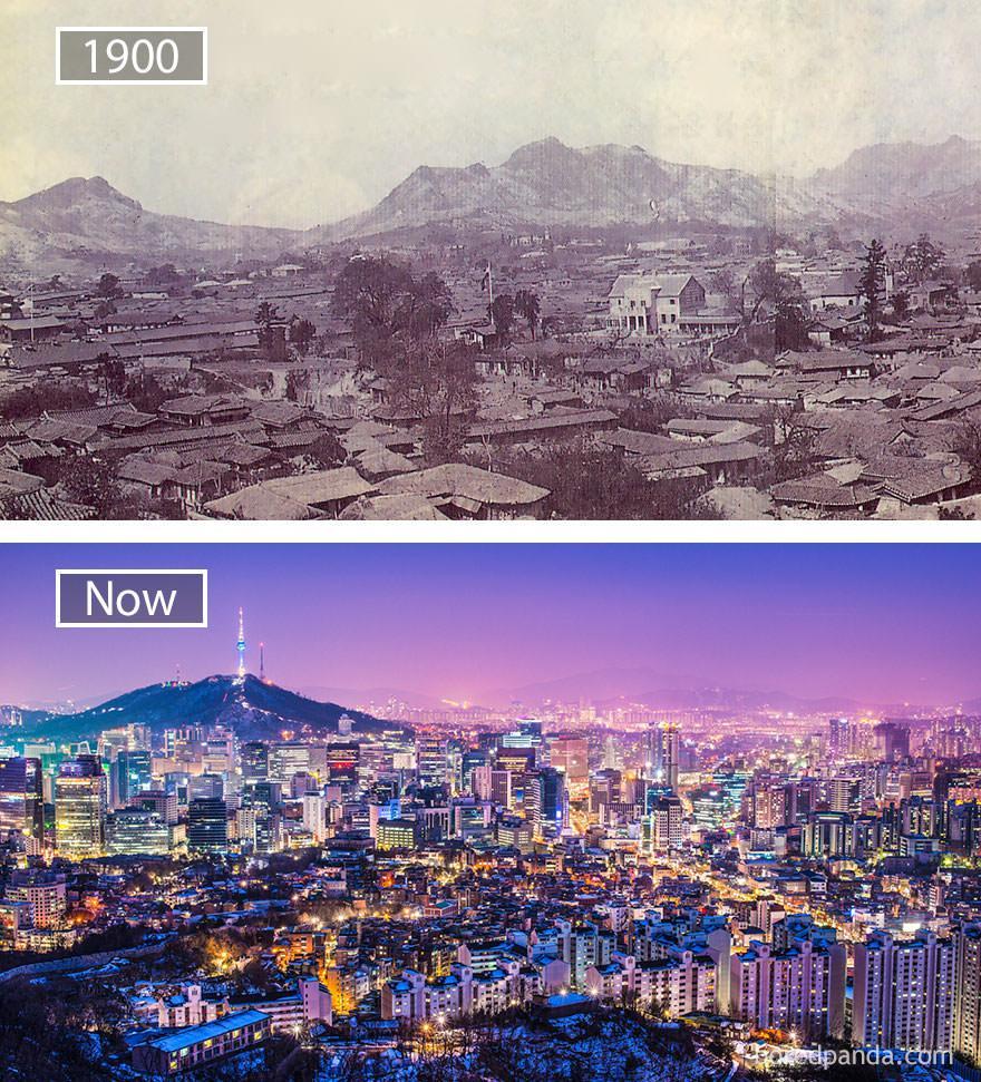 Seul kiedyś i dziś