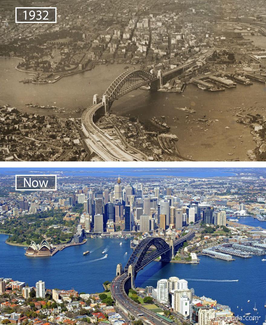 Sydney kiedyś i dziś