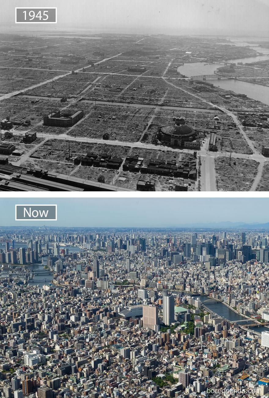 Tokio kiedyś i dziś