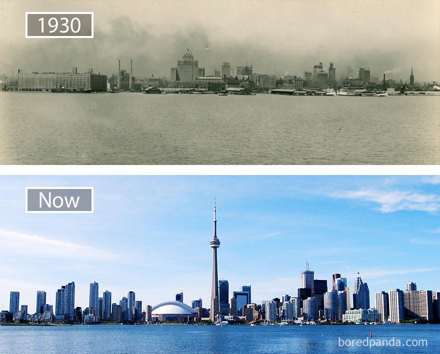 Toronto kiedyś i dziś
