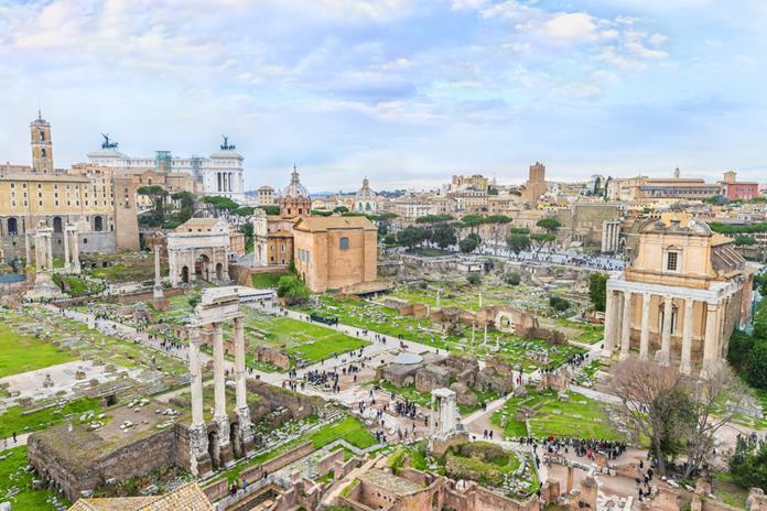 Forum Romanum. Rzym