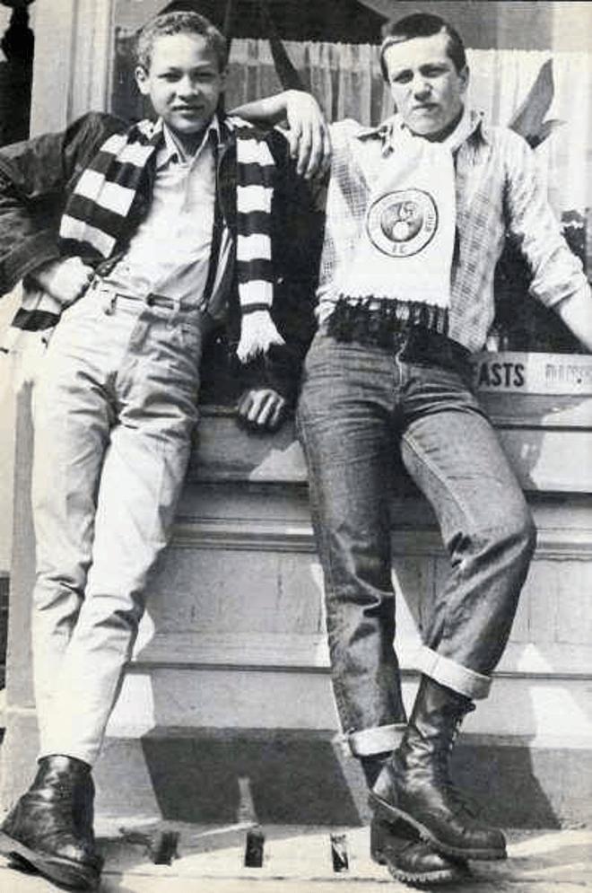 Kibice Tottenhamu Hotspur F.C. w latach 70