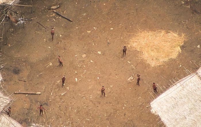 Plemię ludu Janomamów