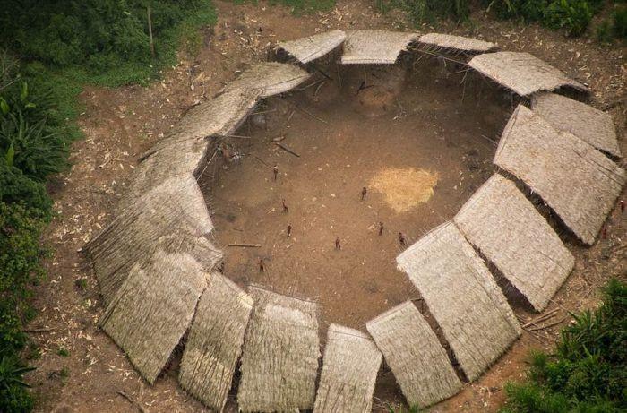 Plemię nie widziało cywilizacji