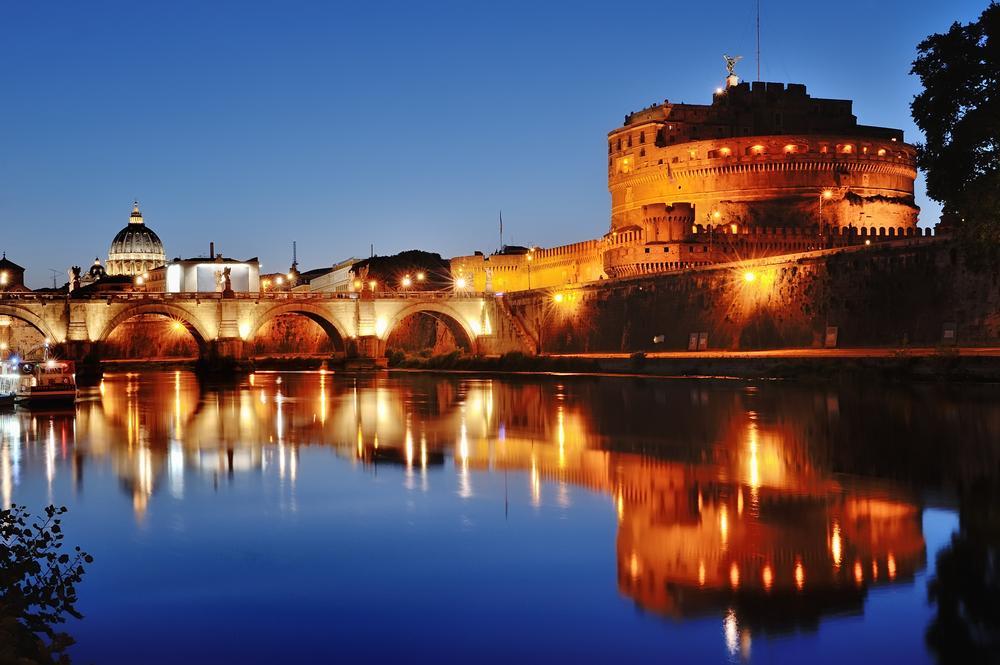 Rzym w nocy