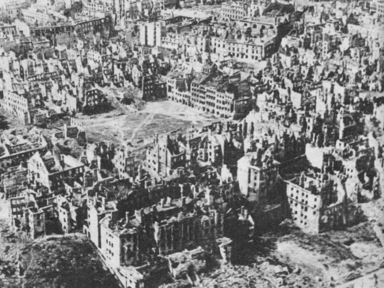 Stare Miasto, Zniszczenia wojenne