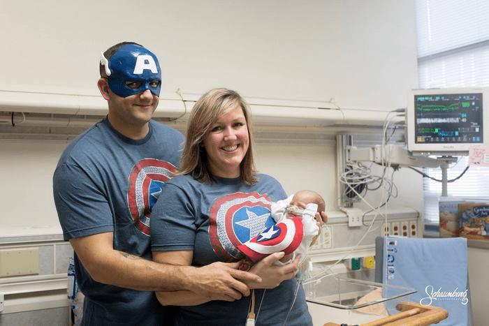 Wcześniaki w przebraniach superbohaterów