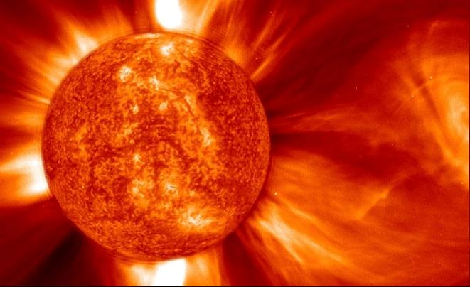Wybuch na Słońcu. Foto. NASA