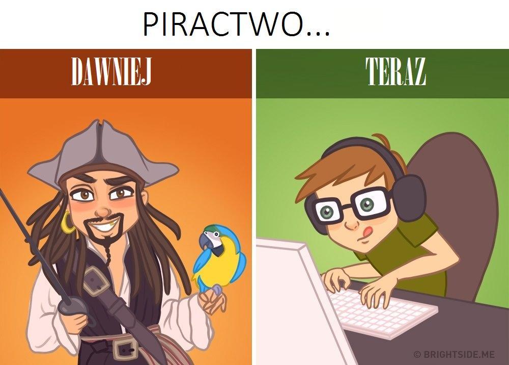 Piractwo - kiedyś i dziś