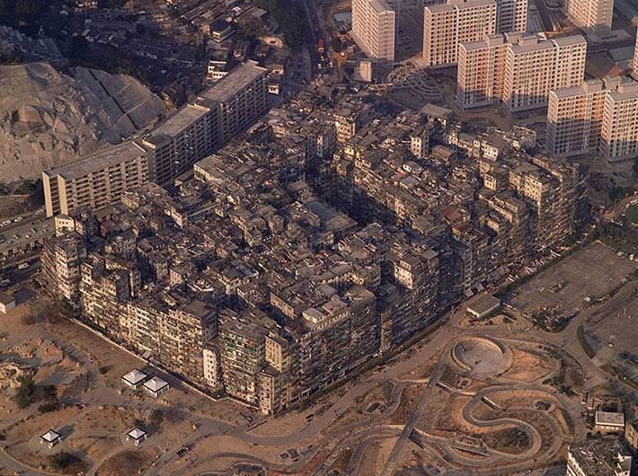 Kowloon - miasto ciemnośći