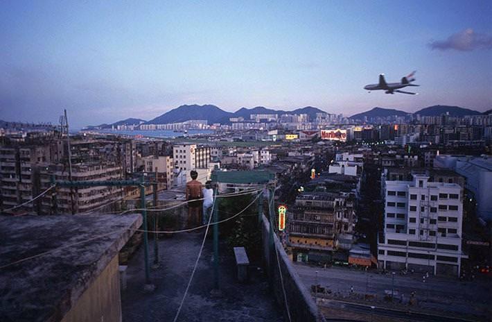 Kowloon dachy