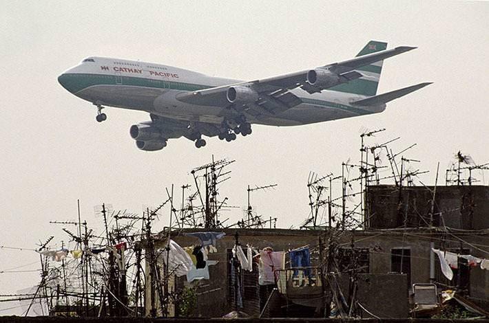 Samoloty nad Kowloon