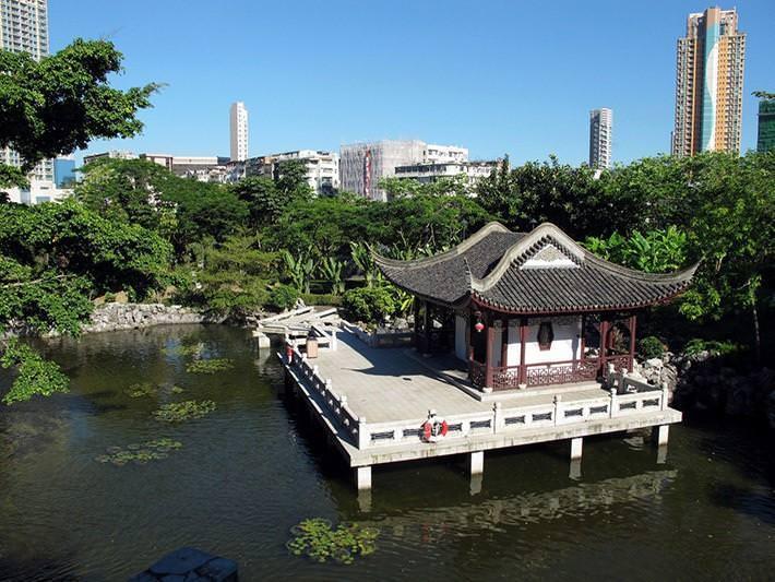Kowloon dzisiaj - park w miejscu dzielnicy