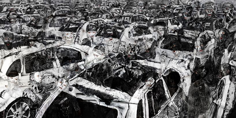 tianjin explosions, 2016 | © liu bolin