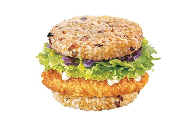 McRice Burger dostępny w McDonalds na Filipinach