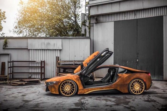 rdzawe BMW