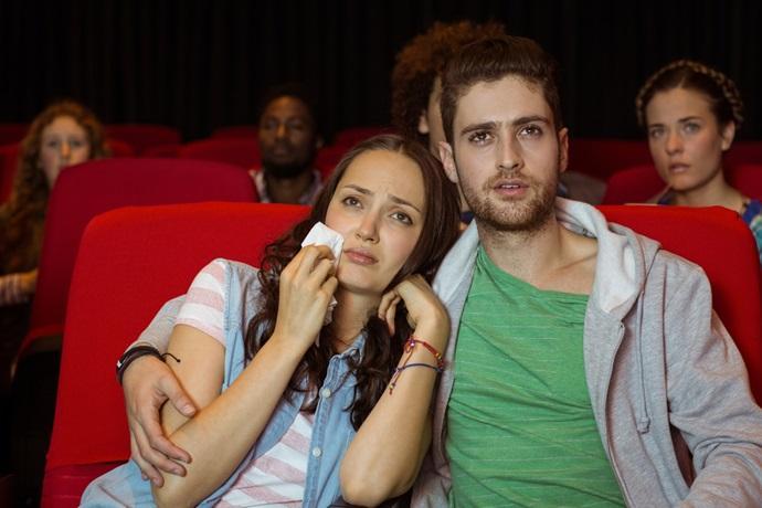 Płakanie na filmach
