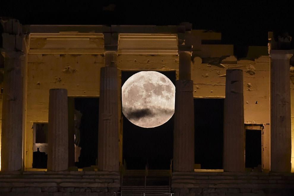 Superksiężyc 2016, Ateny, Grecja