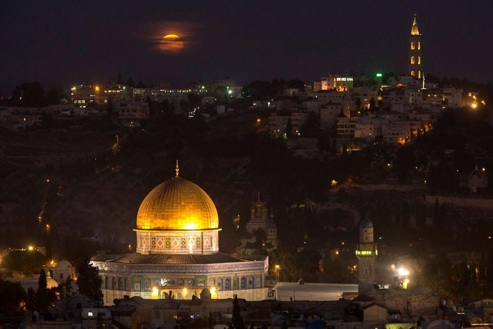 Jerozolima - Superksiężyc