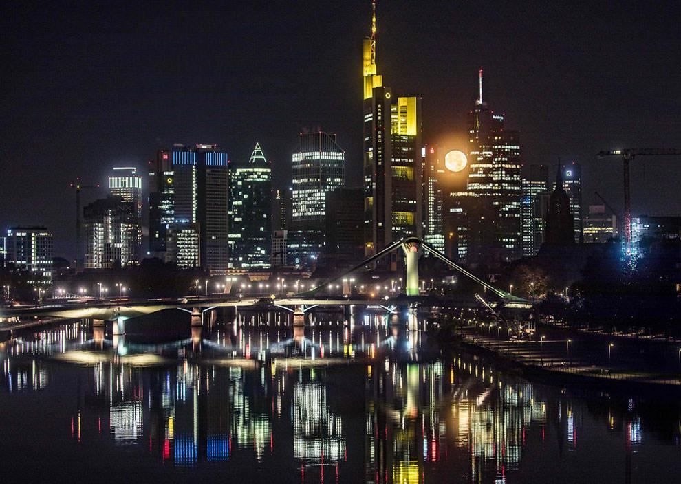 Superksiężyc 2016 - Frankfurt