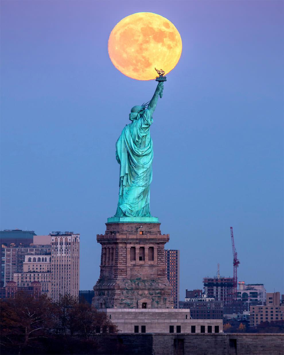 Superksiężyc 2016 - Nowy Jork