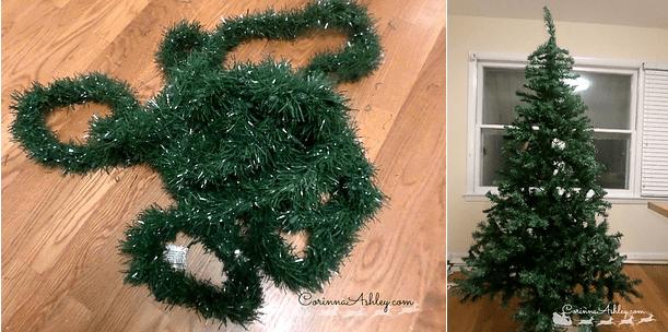Ładniejsza choinka świąteczna