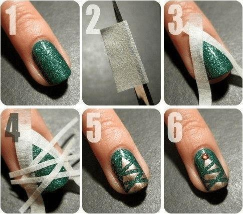 Świąteczne manicure