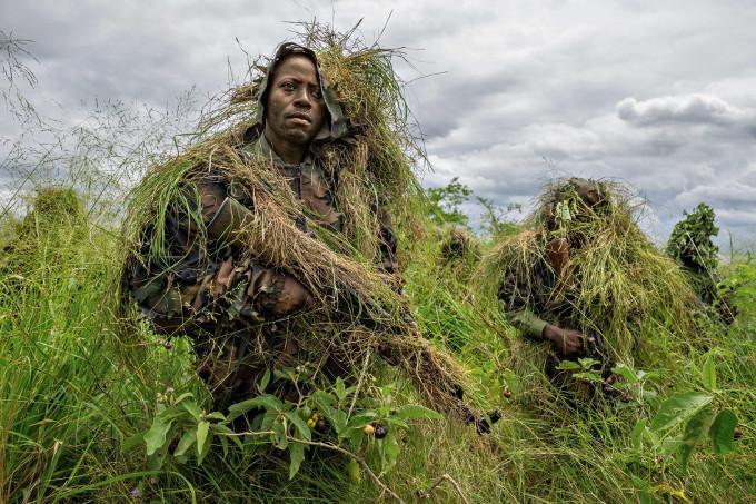 Żołnierze w Demokratycznej Republice Konga
