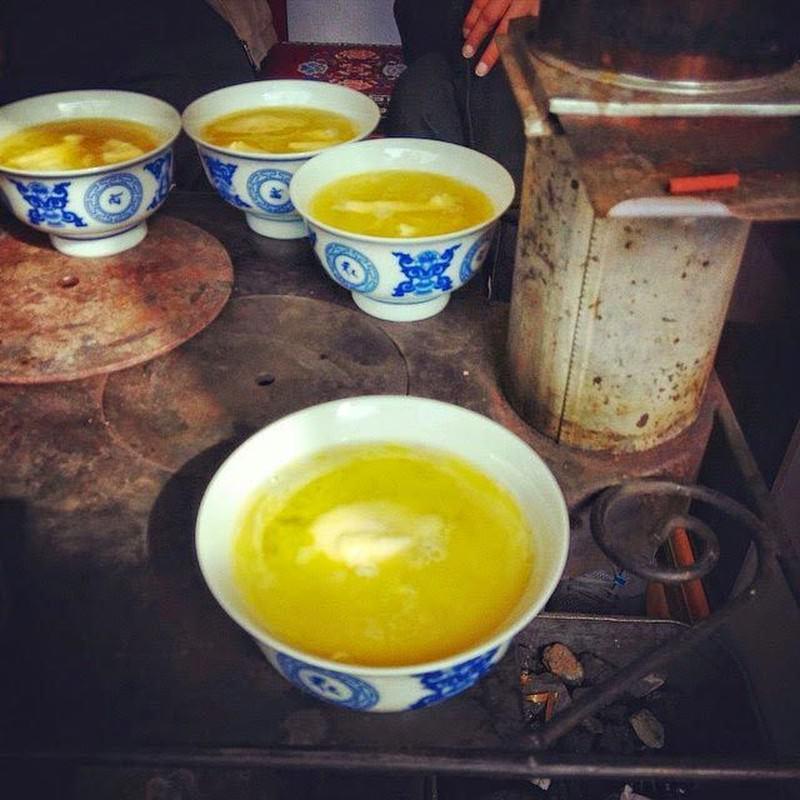 Herbata z masłem w Tybecie