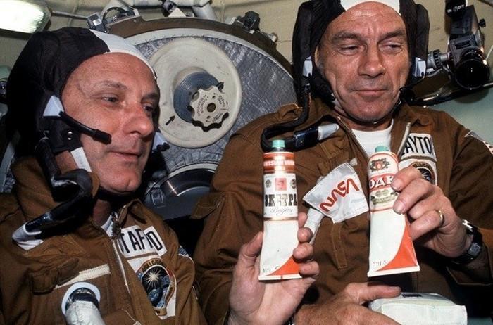 Astronauci na orbicie