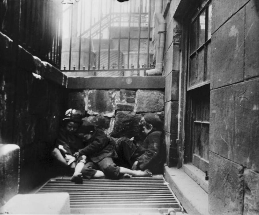 Dzieci ulicy, Nowy Jork rok 1890