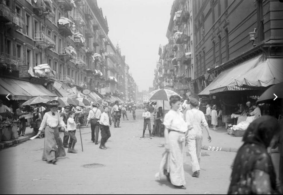East Side, Nowy Jork lata 1902 - 1914 roku,