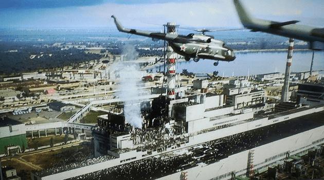 Gaszenie elektrowni w Czarnobylu