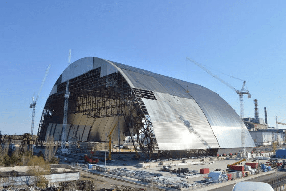 Nowy łuk nad Czarnobylem