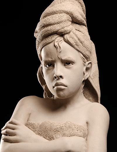 Odmowa rzeźba philippe faraut