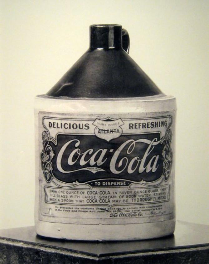 Stara butelka Coca Coli