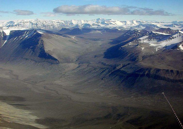 Suche Doliny — najsuchsze miejsce na świecie