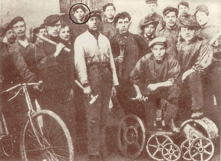 Tito w 1913 roku