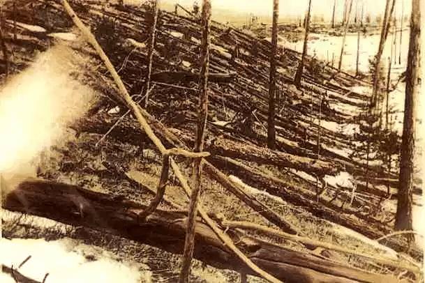 Tunguska miejsce katastrofy 1927 rok