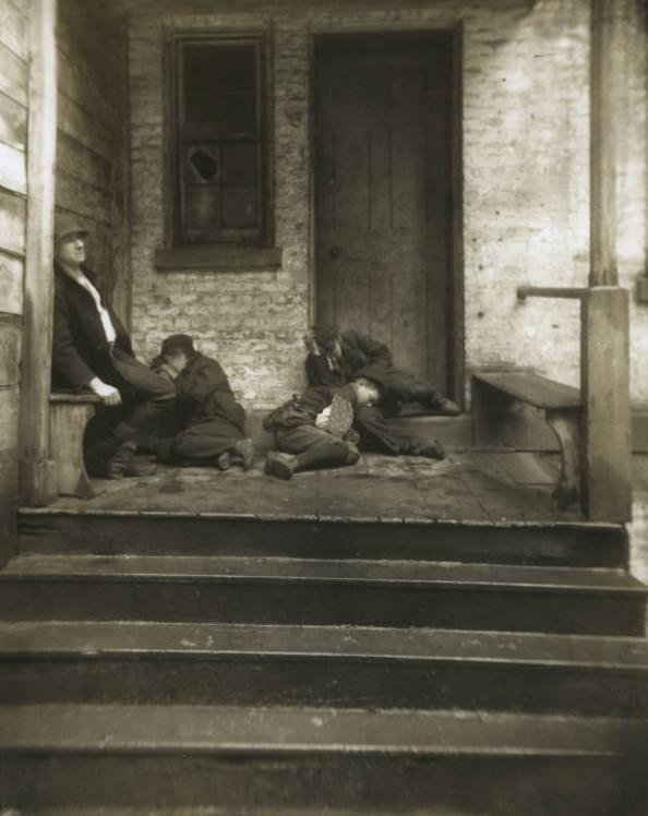 Uboga ludność, Nowy Jork końcówka XIX wieku