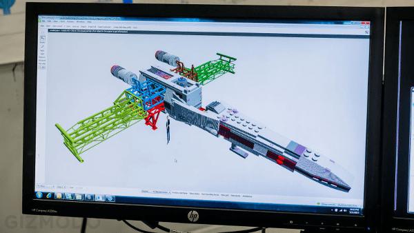 X-Wing Fighter LEGO projekt