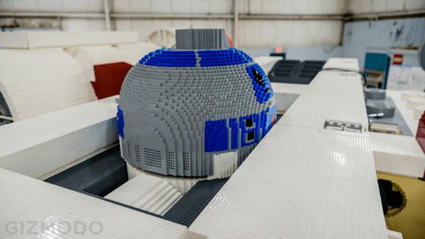 X-Wing Fighter z klocków