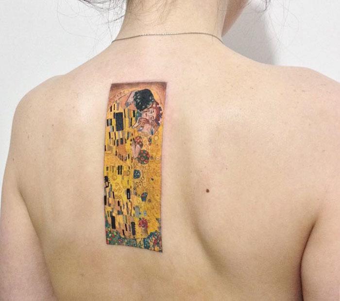 artistic-tattoos-gustav-klimt-1