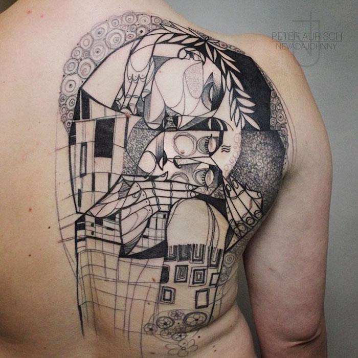 artistic-tattoos-gustav-klimt-7