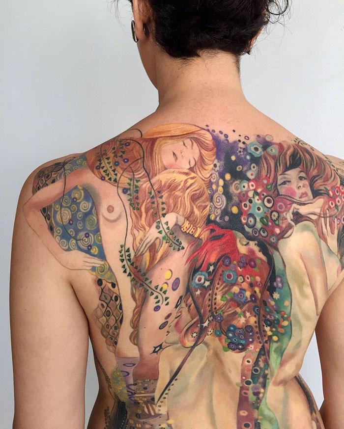 artistic-tattoos-gustav-klimt-9