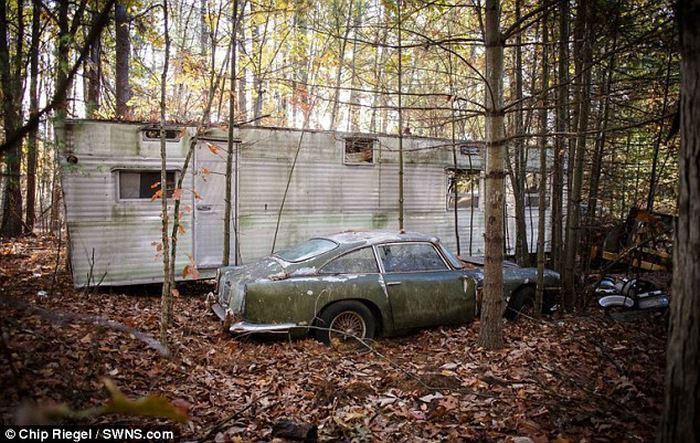 Aston Martin DB 4 odnaleziony w USA