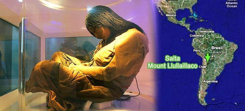 Mumia dziecka inków