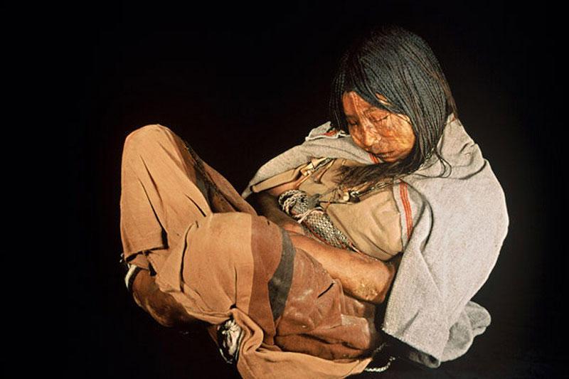 Mumia znaleziona w górach