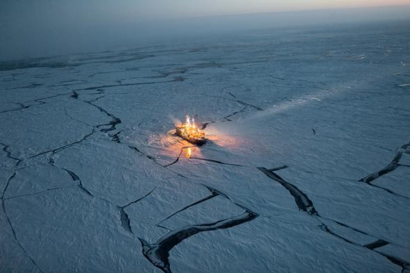 norweski statek badawczy Lance