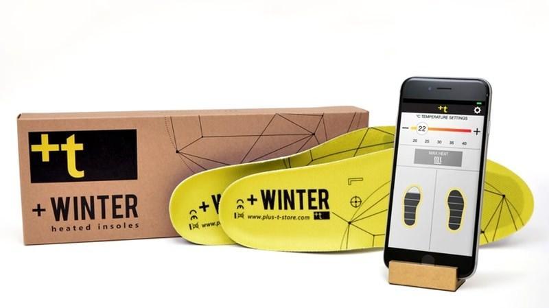 +Winter - ogrzewane wkładki do butów z regulacją temperatury